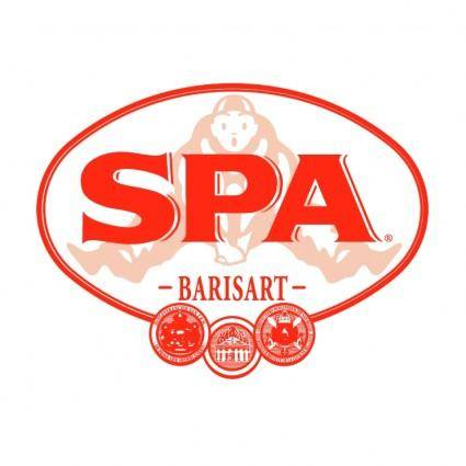 free vector Spa water barisart