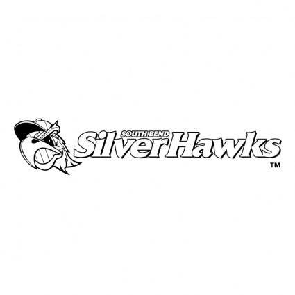 free vector South bend silver hawks