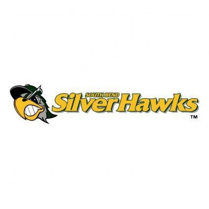 free vector South bend silver hawks 0