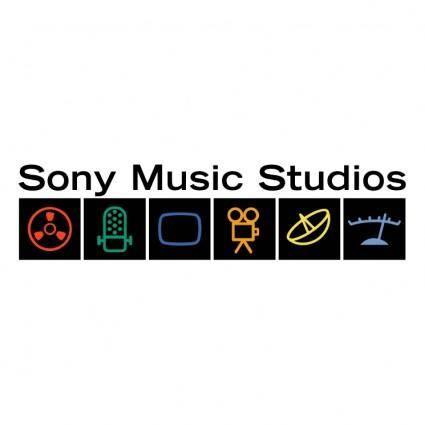 free vector Sony music studios