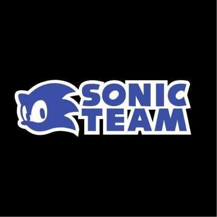 free vector Sonic team