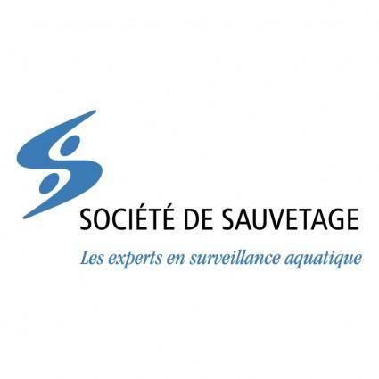 free vector Societe de sauvetage