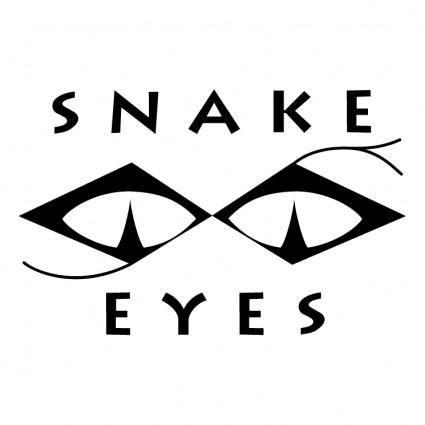 free vector Snake eyes