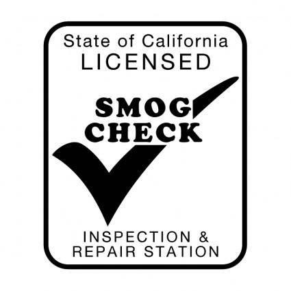 free vector Smog check