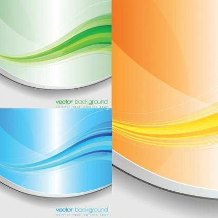 free vector Beautifully colored stripes vector