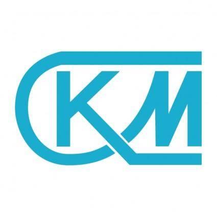 Km logo stock photos