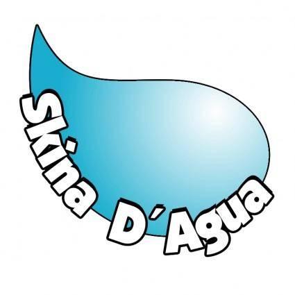 free vector Skina dagua