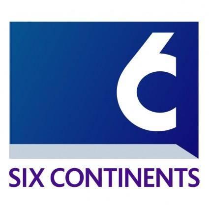 free vector Six continents