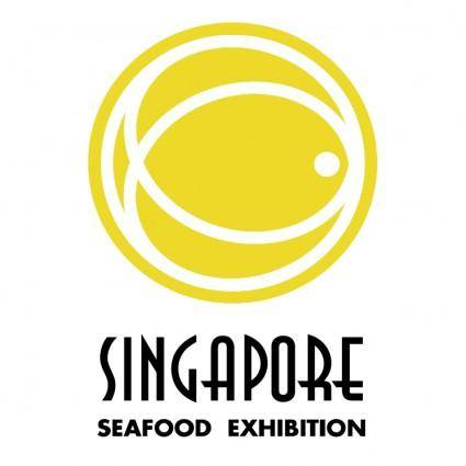 free vector Singapore seafood exhibition