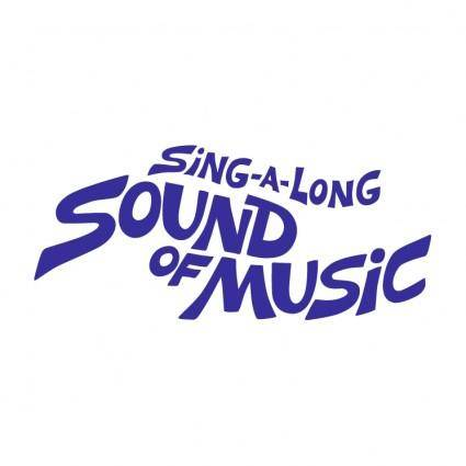 free vector Sing a long a sound of music