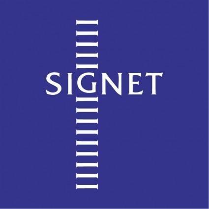 free vector Signet