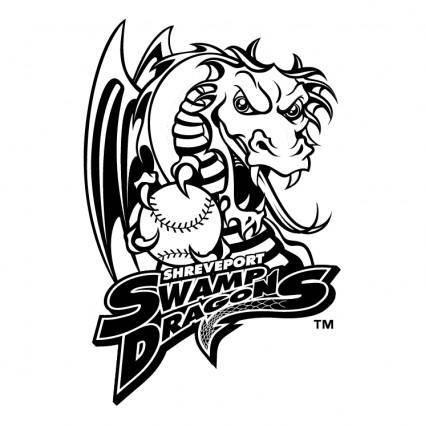 free vector Shreveport swamp dragons
