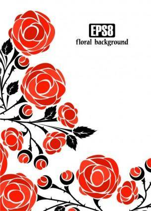 free vector Roses vector 4