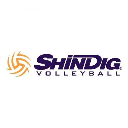 free vector Shindig volleyball