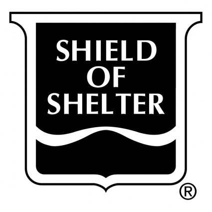 free vector Shield of shelter