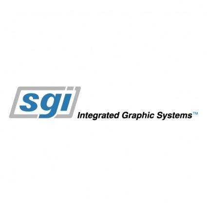 free vector Sgi integrated graphic systems