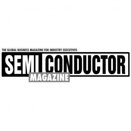free vector Semiconductor magazine