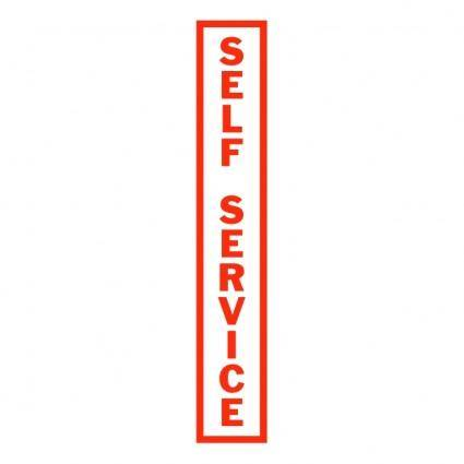 free vector Self service