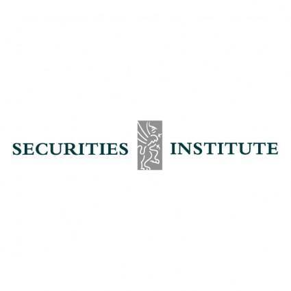 free vector Securities institute
