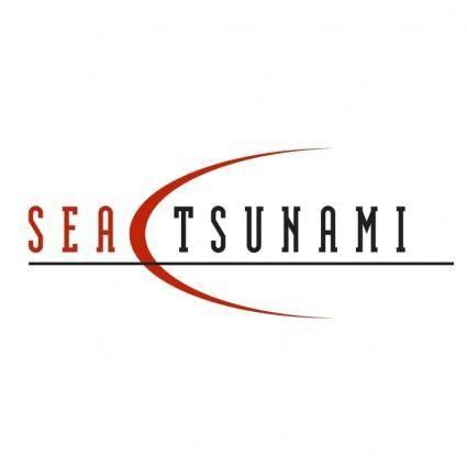 Sea tsunami