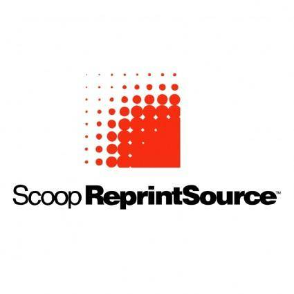 Scoop reprint source