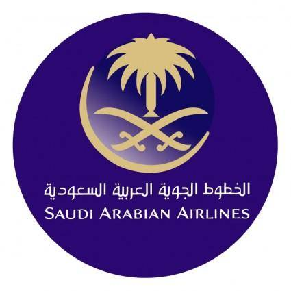 free vector Saudi arabian airlines 0