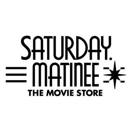 free vector Saturday matinee