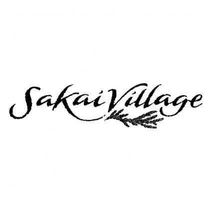 free vector Sakai village