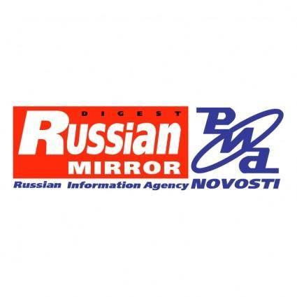 free vector Russian mirror