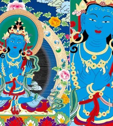 Dharmakaya vajradhara thangka vector ai contempt for those who claim to copyright