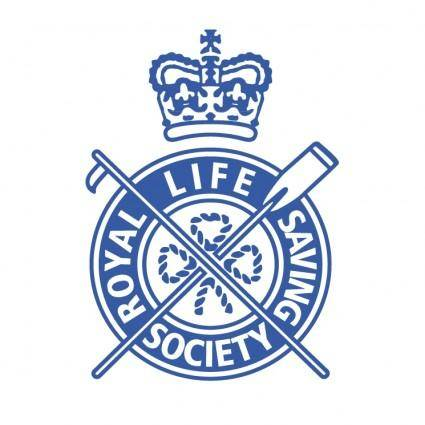free vector Royal life saving society