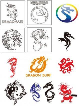 Dragon vector collection