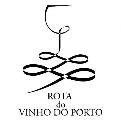 free vector Rota do vinho do porto