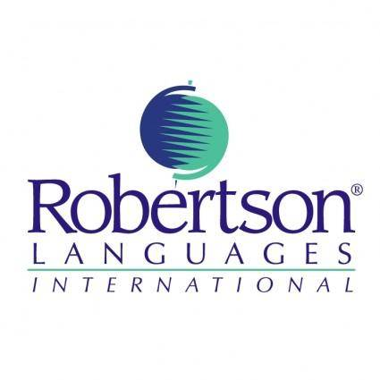 free vector Robertson languages