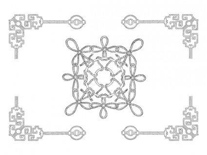 free vector Chinese classical vector the 21