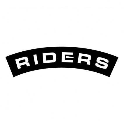 free vector Riders