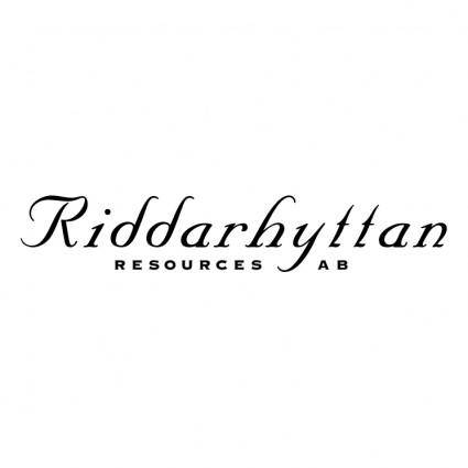 Riddarhyttan resources