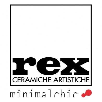 free vector Rex ceramiche artistiche