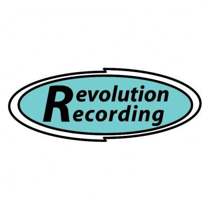 free vector Revolution recording