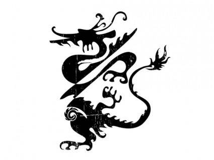 free vector One of the classical chinese dragon vector