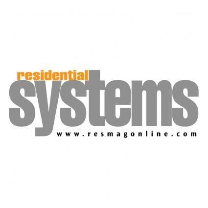 free vector Residential systems