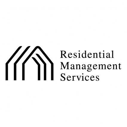 free vector Residential management services