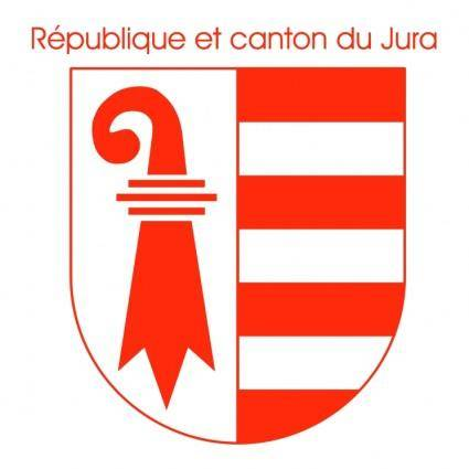 free vector Republique et canton du jura