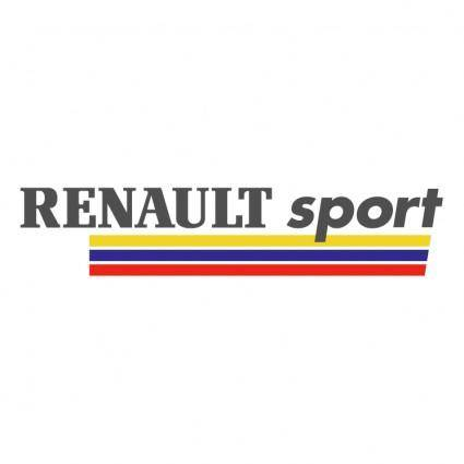 free vector Renault sport