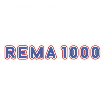 free vector Rema 1000