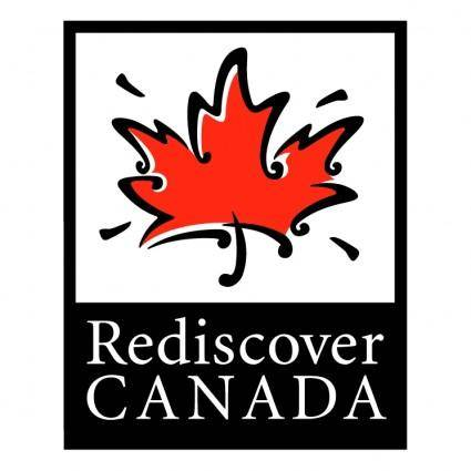 free vector Rediscover canada