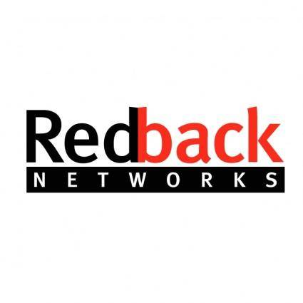 free vector Redback networks