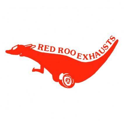 Red roo exhausts