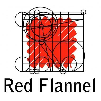 free vector Red flannel