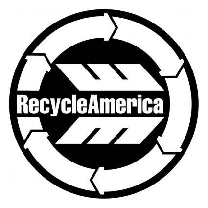 free vector Recycle america